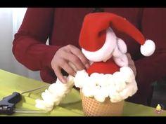 Paso a Paso.Programa 41. Tinita de Santa o Papa Noel 3/3 - YouTube Primitive Doll Patterns, Step Program, Fake Food, Dory, Sewing Tutorials, Presents, Diy Projects, Youtube, Holiday Decor