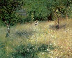 Pierre Auguste Renoir - Spring at Chatou, c.1872-5