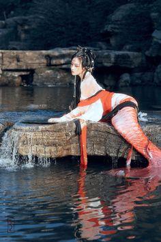 Mermaid Island, Mermaid Fin, Mermaid Lagoon, Magical Creatures, Fantasy Creatures, Character Inspiration, Character Design, Mermaid Artwork, Mermaid Images