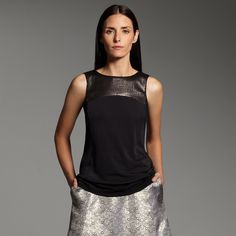 Narciso Rodriguez for DesigNation sequined top - Perfect for a night out with friends #KohlsDreamLooks