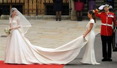 Imagine brides maids wearing the almost the same color as a bride. Don't think that would ever happen in the US.