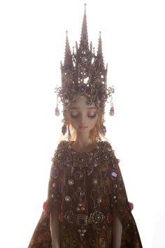 Cathedral - Enchanted Doll by Marina Bychkova