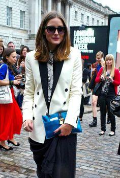 Olivia Palermo Photos: Olivia Palermo at London Fashion Week