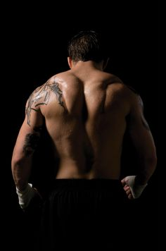 "I could stare at this all day. ""This"" being Tom Hardy's back...incidentally, I could stare at Tom Hardy's front all day, too."