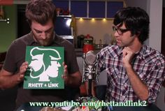 Sign with Rhett and Link Logo by NaomisCustomGifts on Etsy, $50.00