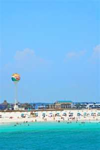 Pensacola Beach Ball Water Tower