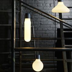 love these hanging pendants