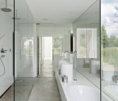 bathroom at | house vmvk | belgium | by dmva.