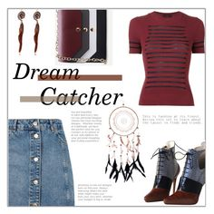 """Dream Catcher"" by styledbytrell on Polyvore featuring Topshop, Jean-Paul Gaultier, Christian Dior and WithChic"