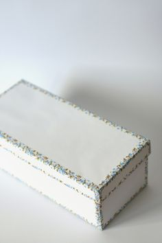 DIY Washi tape decorated box - so cute!