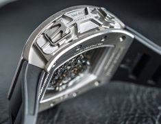 Richard Mille RM 50-02 ACJ Tourbillon Split Seconds Chronograph Watch For Airbus Corporate Jets (Cool Design Pushers).