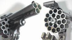 Vintage Badassery: A Triple Barrel Revolver