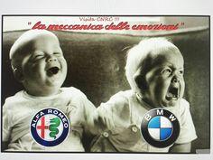 How true.How helarious Alfa Romeo Gta, Alfa Romeo Logo, Alfa Romeo Spider, Alfa Romeo Giulia, Alfasud Sprint, Alfa Bertone, Alfa 159, Monster Garage, Old Sports Cars