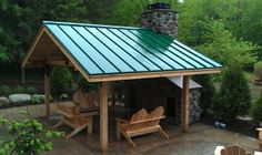 Outdoor Pavillion traditional patio