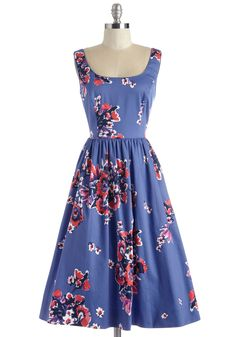 Wonder for the Record Books Dress. Youve seen your fair share of vintage-inspired styles, but this floral dress simply cant be beat!
