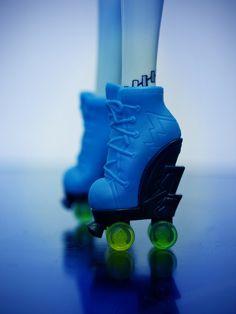 Frankie's roller skates