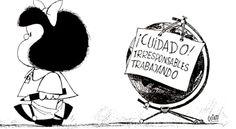 Además de sus característicos cuestionamientos políticos y sociales, las aventuras de Mafalda han dejado también invaluables lecciones ambientales para compartir con quienes se encuentran a nuestro alrededor. http://www.expoknews.com/10-inolvidables-tiras-de-mafalda-con-lecciones-ambientales/