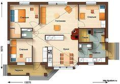 планы домов одноэтажных - Поиск в Google