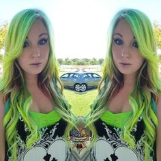 Sorry bout it Blond fans.  This is my enchanted neon pastel hair I used @arcticfoxhaircolor and @pravana to create this look with help from my. Co worker Jesse to help me with the back #neon #neonpastel #limegreen #neonyellow #behindthechair #modernsalon #beautylaunchpad #hotonbeauty #mermaidhair #mermadians #hairbykaseyoh #fantasyhair #mermaidhair use code 'kaseyvp' for $10 off @vpfashion extensions!