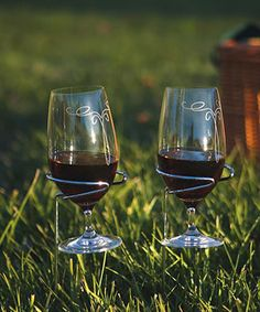 Look what I found on #zulily! Wineglass Handy Holder - Set of Two #zulilyfinds