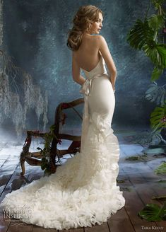 Gorgeous! #wedding #dress #white #weddingdress