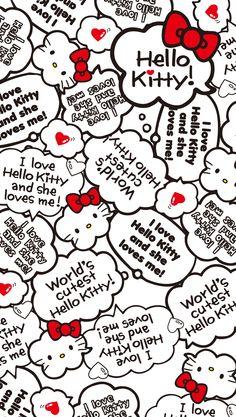 Hello Kitty Hello Kitty Clipart, Hello Kitty Art, Hello Kitty Themes, Hello Kitty Pictures, Sanrio Hello Kitty, Hello Kitty Iphone Wallpaper, Hello Kitty Backgrounds, Sanrio Wallpaper, Wallpaper Iphone Cute