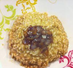 risotto cipolla caramellata