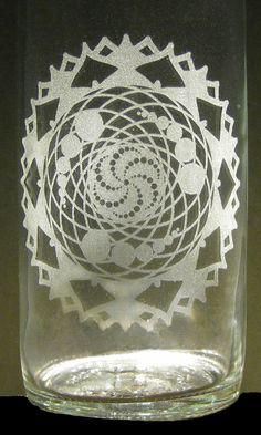 Have an idea or design? Let us #etch it for you! #Crops in #Crown #Etched #Glass #Water #Bottle #BottlenSoul www.etsy.com/shop/BottlenSoul