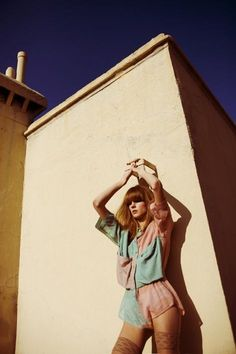 Photographer / missAlessia (alessialaudoni.com) Make-up / Luna Taddonio Stylist / Amalia del Portillo Model / Irina /Elite Models