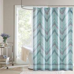 Talulu Fabric Shower Curtain