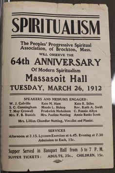 Spiritualism Anniversary Supper #spiritualist #spiritualism