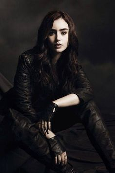 This is my role playing character, Clary Fray. I absolutely positively love Clary Fray.
