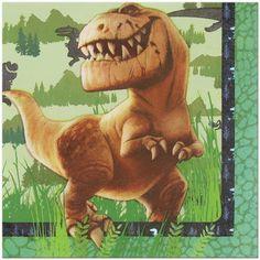 16 Disney The Good Dinosaur Birthday Party 6 5 Paper Lunch Napkins Dinosaur Party Supplies, Bear Mask, Ugly Dolls, The Good Dinosaur, Good Night Moon, Puppy Party, Patch Kids, Dinosaur Birthday, T Rex