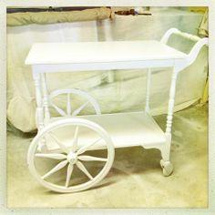 antique tea trolley