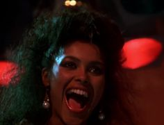 "Denise ""Vanity"" Matthews screen cap from the re-mastered THE LAST DRAGON TRAILER  