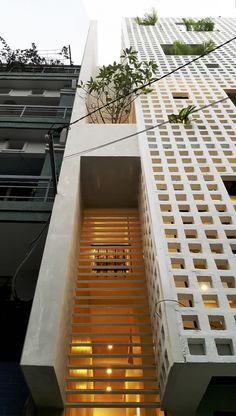 Es de ladrillo pero podría ser de cerámica_Galería de Casa Q10 / Studio8 Vietnam - 13