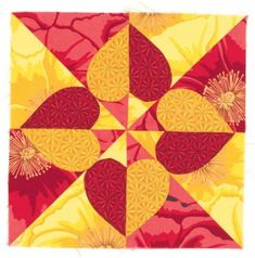 Emily's Heart Quilt @ tlc.howstuffworks