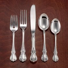4pc We Take Customers As Our Gods s Prince Eugene By Alvin Sterilng Silver Regular Size Place Setting