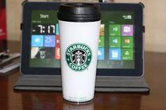Original Starbucks coffee mug, see how it changes through time