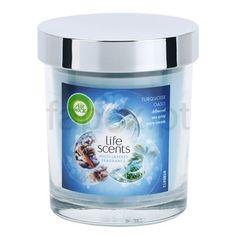 Air Wick Life Scents Decorative Vela perfumado   (Turquoise Oasis) | fapex.pt