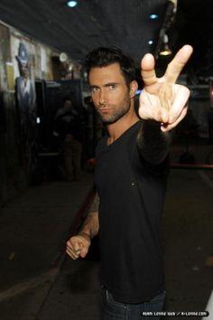 Adam Levine..peace