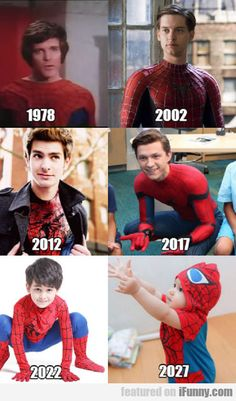 Spider-man Over The Years