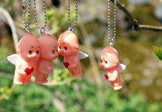 Tiny Kewpies are having spring time fun!