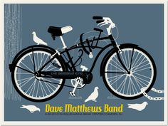 Dave Matthews Band, top 3 favorite posters, hanging in the living room!