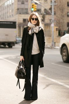 winter. style. black. grey. scarf. layers. casual.