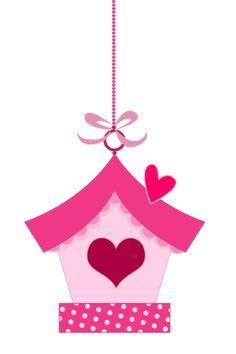 ideas pink bird clipart love for 2019 Felt Patterns, Applique Patterns, Applique Designs, Felt Crafts, Diy And Crafts, Crafts For Kids, Paper Crafts, Bird Clipart, Bird Party