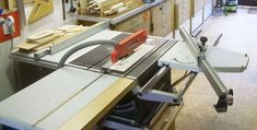 Sliding table saw attachment