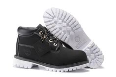 Black White Timberland Men Shoes,Fashion Winter 2016 New Timberland Men Boots