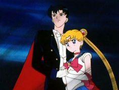 Sailor Moon Darien | Sailor Moon & Tuxedo Mask - Serena and Darien Photo (32693143 ...