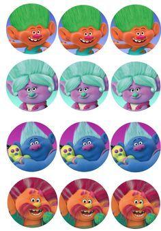 trolls movie free party printables